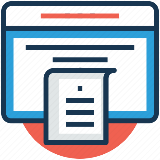 business reporting, online documents, publication, reporting, statistics report icon