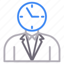 employee, manager, profile, user icon