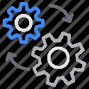 cogwheel, configure, management, setting icon