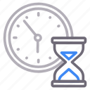 hourglass, stopwatch, time, watch icon
