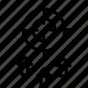 aim, goal, intention, plan, target icon