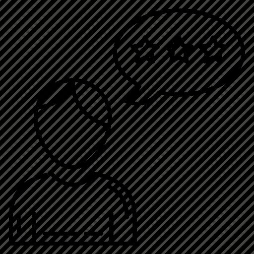 avatar, bubble, dialog, employee, user icon