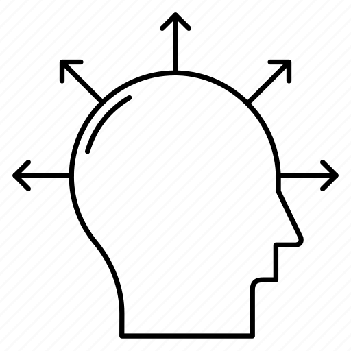 Brain, head, idea, mind, think icon - Download on Iconfinder
