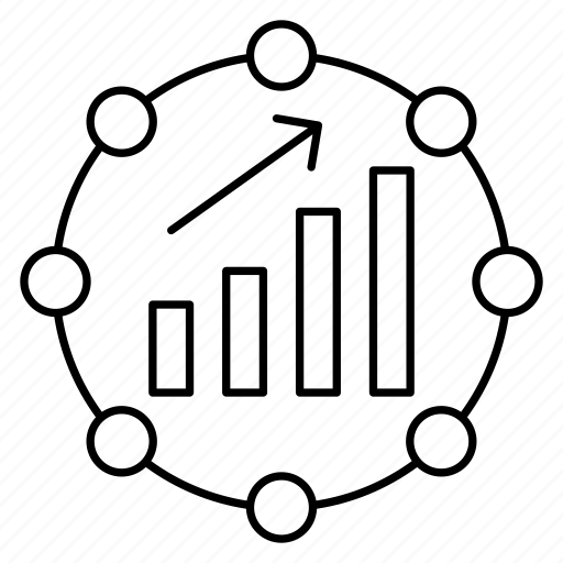 chart, graph, growth, increase, statistics icon