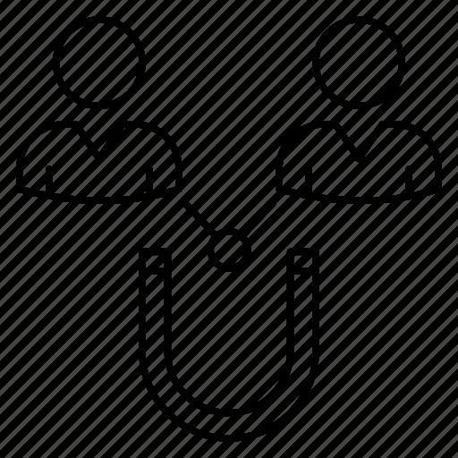 attarct, avatars, employess, magnet, user icon