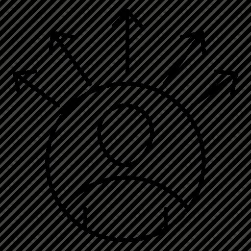 account, avatar, employee, profile, user icon