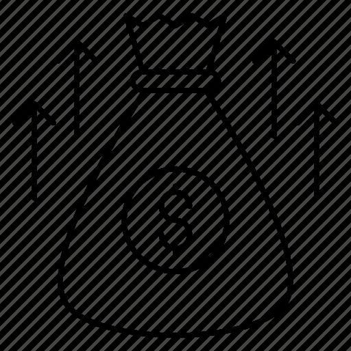 Bag, dollar, finance, money, saving icon - Download on Iconfinder