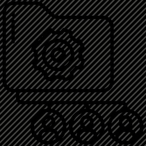 Shared, folder icon - Download on Iconfinder on Iconfinder