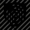 fingerprint, password icon