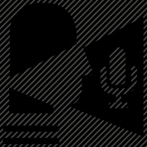 microphone, privacy, record, voice icon