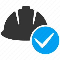 accept, check, helmet, ok, safety, service, yes icon