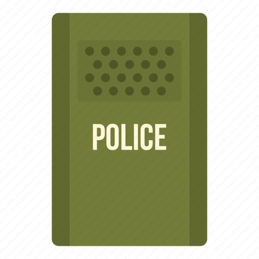 demonstration, force, police, protest, riot, security, shield icon