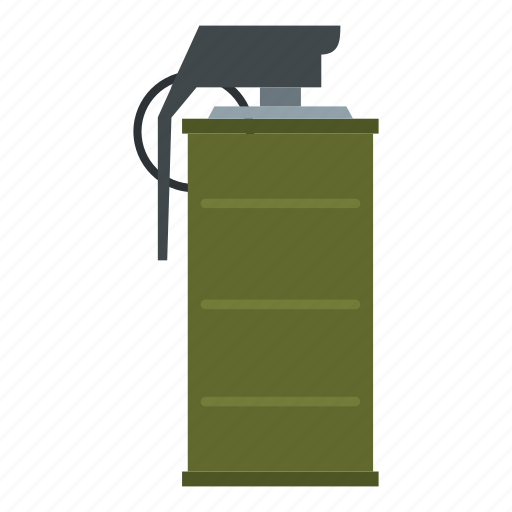 explosion, fight, grenade, military, smoke, war, weapon icon