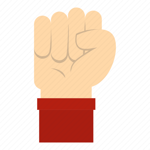 costume, fight, fist, gesture, hand, power, up icon