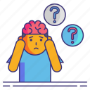 alzheimer, dementia, disease icon
