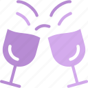 alcoholic, bar, beer, cheers, party, pub icon