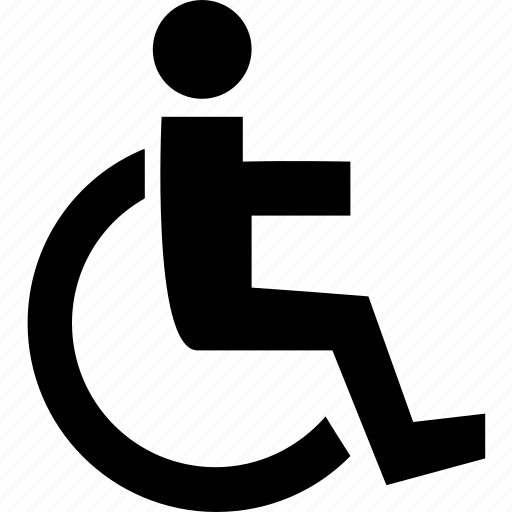 disability, handicapped, public sign, sign, wheelchair icon