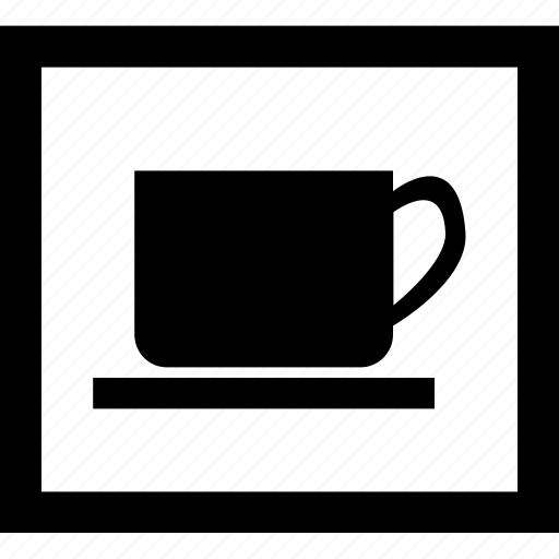 beverage, cup, drinks, food, mug, public sign, sign icon