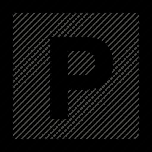park, parking, public sign, sign icon