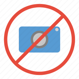camera, no, not allowed, photography, prohibited, restricted, warning icon