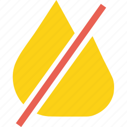 fire, flame, no, not, not allowed, probihited, warning icon