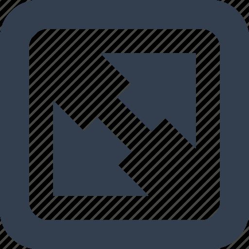 arrow, exchange, public, signs icon