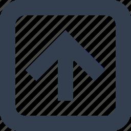 arrow, forward, public, signs icon