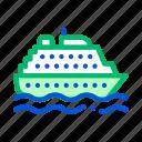public, ship, transport icon