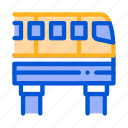 monorail, public, transport