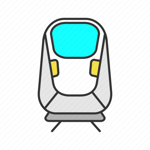 express, maglev, monorail, railway, train, transport, transrapid icon