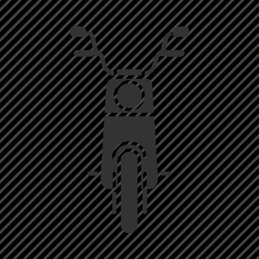 Bike, motor, motorbike, motorcycle, scooter, transport, vehicle icon - Download on Iconfinder