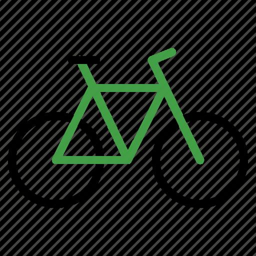 bike, cycle, mountain, transportation, vehicle icon