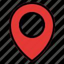 location, map, navigation, transportation, vehicle icon
