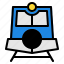 old, traditional, train, transportation, vehicle icon
