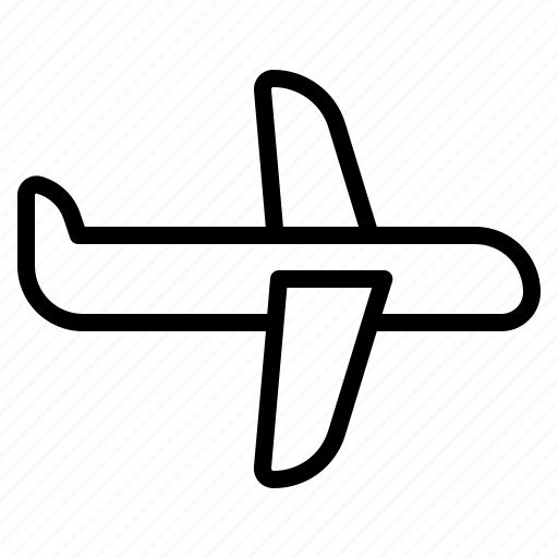 air, plane, transportation, vehicle icon