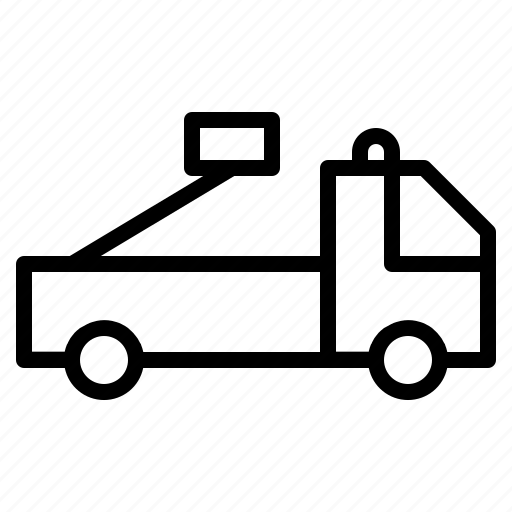 car, fire, transportation, truck, vehicle icon
