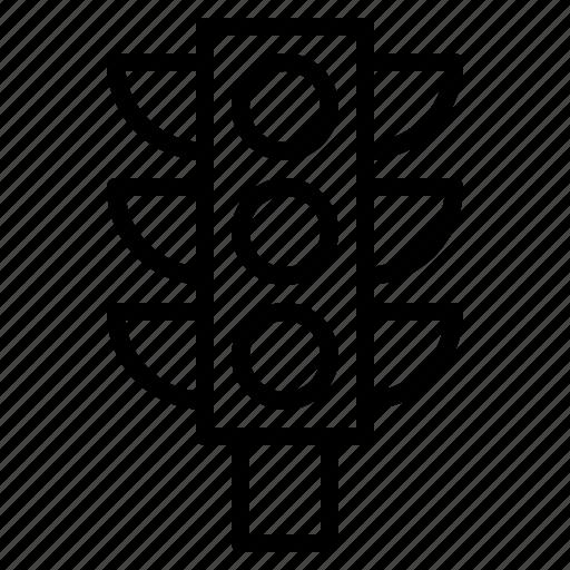 lamp, sign, traffic, transportation, vehicle icon