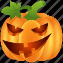 food, fun, halloween, lantern, pumpkin, scary, vegetable icon