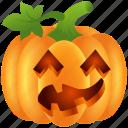 food, halloween, lantern, pumpkin, scary, ugly, vegetable icon
