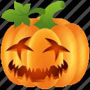 pumpkin, carved pumpkin, halloween icon