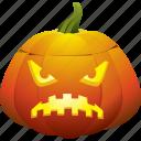 scary, angry, halloween, pumpkin, horror, jack o lantern