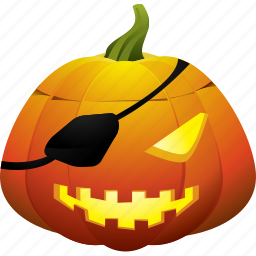 ghost, halloween, pirate, pirates, pumpkin, scary icon