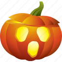 halloween, lamp, light, pumpkin, scary icon