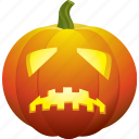 bad, halloween, pumpkin, sad, scary, ugly icon