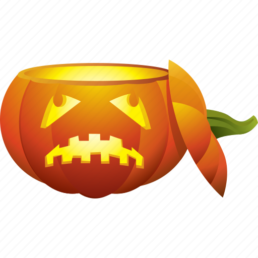 halloween, head, pumpkin, skull icon