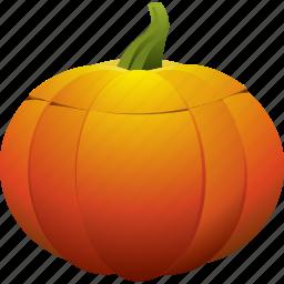 empty, halloween, pumpkin icon