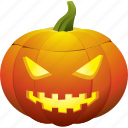 ghost, halloween, jack o lantern, mad, mean, pumpkin icon
