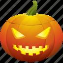halloween, jack o lantern, mad, mean, pumpkin icon