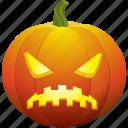 angry, sad, halloween, pumpkin, ugly, bad