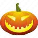 face, halloween, happy, pumpkin, smile, smiley icon